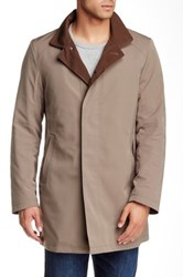 Sanyo Getaway Removable Lining Trench Coat Metallic