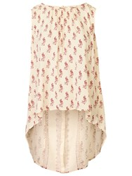 Fat Face Emily Peacock Longline Tunic Ivory