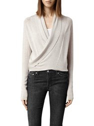 Allsaints Wasson Pirate Cardigan Oyster
