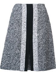 Carolina Herrera A Line Mini Skirt Black