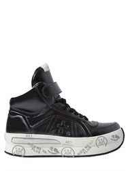 Premiata Revolution Leather High Top Sneakers
