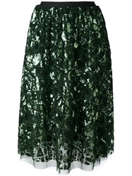 Bellerose Sequin Embellished Skirt Green