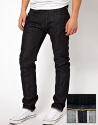 Edwin Jeans Relaxed Tapered Fit Selvedge Ed 55 Blue