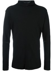 Transit High Neck Jumper Black