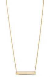 Bony Levy 14K Gold Bar Pendant Necklace Nordstrom Exclusive Yellow Gold