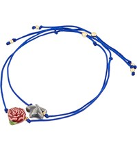 Venessa Arizaga Starcross Lovers Ceramic Bracelet Blue
