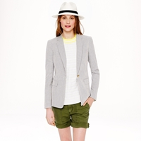 J.Crew Collection Rylan Blazer In Seersucker