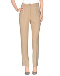 Francesco Scognamiglio Trousers Casual Trousers Women Beige