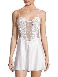 Flora Nikrooz Showstopper Venise Lace Chemise Ivory