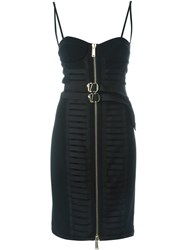 Dsquared2 Military Bustier Dress Black