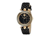 Versace Vanitas 30Mm Vqm01 0015 Rose Gold Black Watches