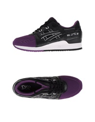 Asics Tiger Sneakers Dark Purple