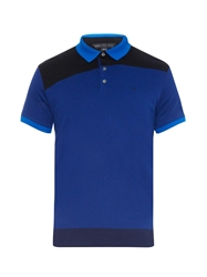 Marc By Marc Jacobs Colour Block Cotton Polo Shirt
