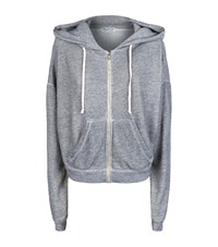 Wildfox Couture Milk Run Burnout Hoodie Female Blue
