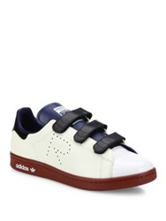 Raf Simons Stan Smith Multicolor Leather Grip Tape Sneakers White Multi