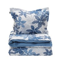 Gant Maui Flower Duvet Cover Yale Blue Super King