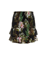 Etoile Isabel Marant Floral Print Cotton Voile Mini Skirt