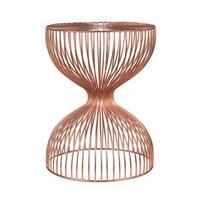 Pols Potten Wire Dumbbell Stool Copper