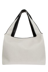 The Row Duplex Canvas Bag Beige
