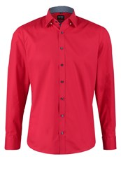 Olymp Level 5 Slim Fit Shirt Dunkelrot Red