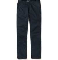 Nn.07 Marco Slim Fit Stretch Cotton Chinos Blue