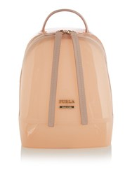 Furla Pink Mini Backpack Pink