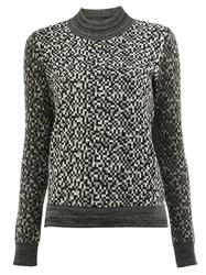 Anrealage Pixelated Effect Jumper Black