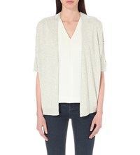 Ted Baker Kembly Knitted Cardigan Ash