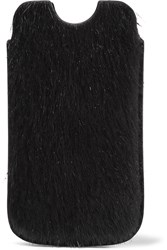 Rick Owens Pony Hair Iphone 5 Case Black