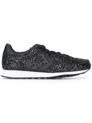 Converse 'Auckland Racer' Glitter Detail Sneakers Black