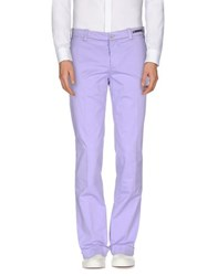 Pt01 Trousers Casual Trousers Men Lilac