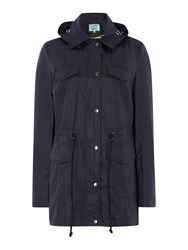Dickins And Jones Somerset Rain Mac Navy