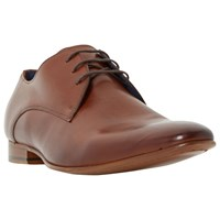 Dune Rammos Lace Up Derby Shoes Tan