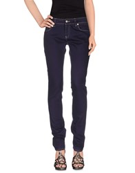 Daniele Alessandrini Denim Denim Trousers Women Purple