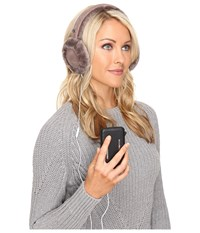 Ugg Classic Earmuff With Speaker Technology Stormy Grey Cold Weather Hats Gray
