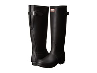 Hunter Original Back Adjustable Black Women's Rain Boots