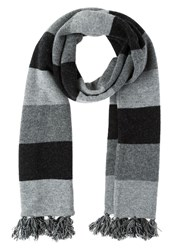 Hackett London Scarf Multi Grey
