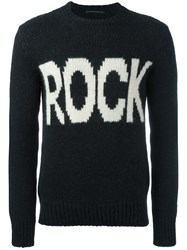 Ermanno Scervino 'Rock' Jumper Black