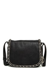 Carlos By Carlos Santana Olivia Chain Flap Bag Black