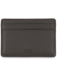Hugo Boss Jacquard Cardholder Brown