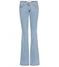 Victoria Beckham Denim Flared Jeans Blue