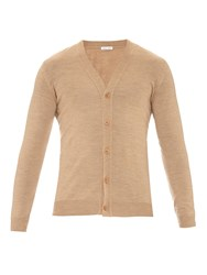 Tomas Maier Fine Knit Wool Cardigan