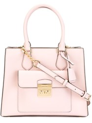 Michael Michael Kors 'Bridgette' Tote Pink And Purple