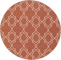 Surya Alfresco Inddoor Outdoor Round Rug