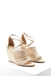 Forever 21 Faux Suede Strappy Wedges