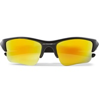 Oakley Flak Jacket Acetate Sunglasses Black