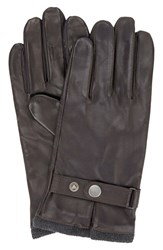 Ben Sherman Men's Original Penguin Leather Driving Gloves With Knit Lining