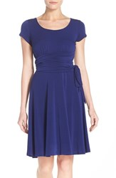 Women's Leota Scoop Neck Jersey Fit And Flare Dress