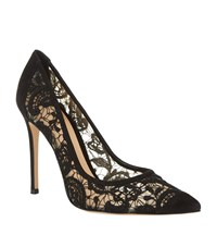Gianvito Rossi Elodie Lace Court Female Black