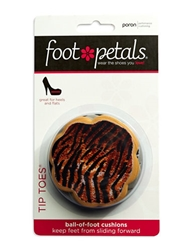 Footpetals Six Pack Tip Toes Cushion Inserts